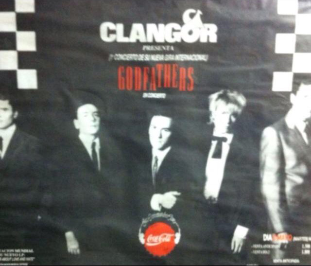 The Godfathers at Clangor